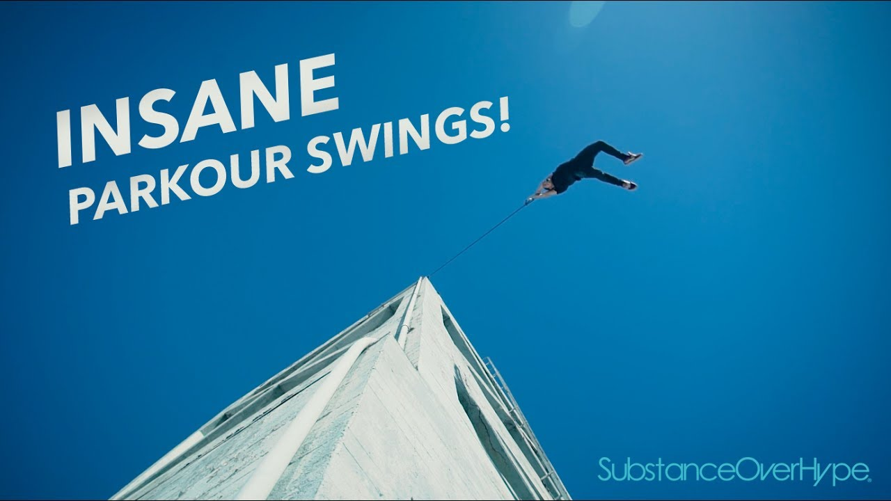 Insane Parkour Swings
